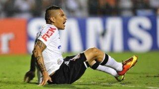Pese a lesión Paolo Guerrero jugaría para Corinthians este fin de semana