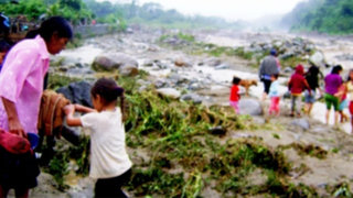 Alerta por amenaza de desbordes en más de 130 ríos a nivel nacional