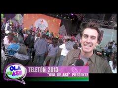 Lo que no se vio de la participación de Ola ke Ase en la Teletón 2013