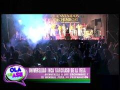 Universidad Inca Garcilaso de La Vega da la bienvenida a sus 8,500 'cachimbos'