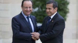 Noticias de las 6: Humala se reunió con Francois Hollande en París