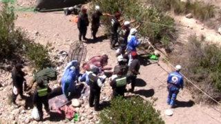 Identifican a nueve de las 51 víctimas del despiste de un camión en La Convención