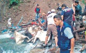 Gobierno dispone apoyo a familiares de 51 víctimas de accidente en Cusco