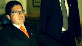 Fiscalía formalizó ante el PJ investigación contra Michael Urtecho