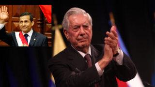 Mario Vargas Llosa: Ollanta Humala es el mejor presidente que ha tenido el Perú