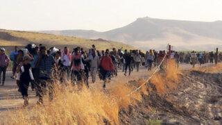 Siria: liberan a 3 mil civiles que eran usados como escudo humano por rebeldes