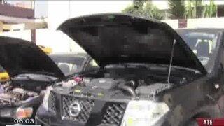 Ate: Recuperan vehículos que serían desmantelados en cementerio de autopartes