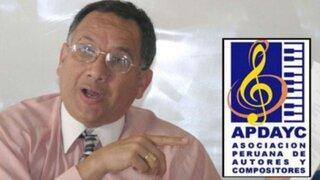 Apdayc denuncia que intervención obedece a intereses económicos