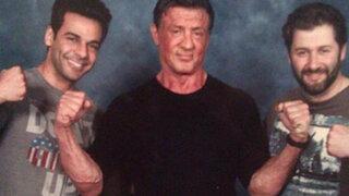 Sylvester Stallone cobró 500 dólares a cada admirador por tomarse una foto