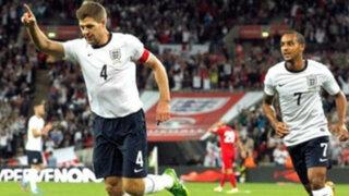 Inglaterra venció 2-0 a Polonia y estará en el Mundial de Brasil 2014