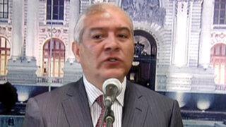 Ministro Pedraza critica liberación para colaboradores de terroristas en el Vraem
