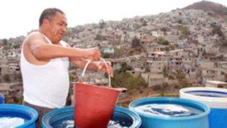 Solo en la zona urbana más de 2 millones de peruanos no acceden al agua
