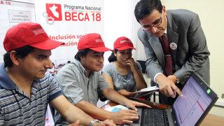 Pronabec: Como todo programa social Beca 18 también ha tenido errores