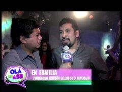 Feliz Aniversario: familia de Panamericana Tv. celebró 54 años de fundación