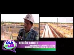 Región Loreto implementa megaproyecto para descontaminar sus ríos