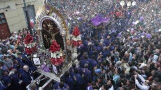 Señor de los Milagros: procesión recorrerá Lima el sábado 5 de octubre