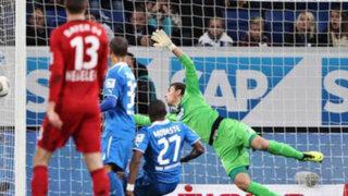 VIDEO: Hoffenheim pide repetir partido por este gol fantasma de Bayern Leverkusen