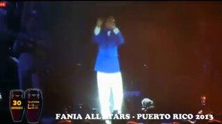Puerto Rico: Héctor Lavoe reaparece en concierto de la Fania All Stars