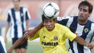 Edison Flores marcó en España y  abrió goleada del Villarreal B