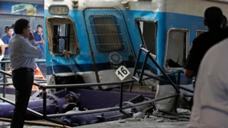 Impactantes imágenes del choque del tren en Argentina que dejó 99 heridos