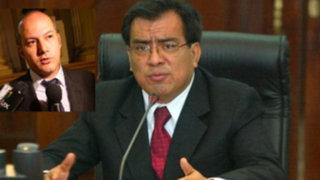 """Javier Velásquez: Gobierno negoció con """"Brasil"""" acusaciones contra el APRA"""