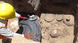 Hallan nuevas cámaras funerarias de la cultura Chimú en Lambayeque