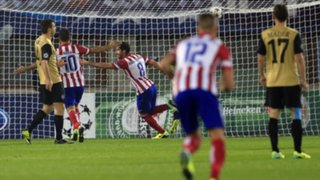 Atlético de Madrid vapuleó 3-0 al Austria Vienna por Champions League