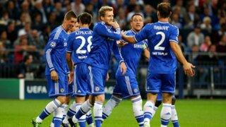 Schalke 04 de Jefferson Farfán cayó goleado 0-3 ante el Chelsea en Alemania