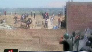VIDEO: traficantes de terrenos se enfrentan a la policía en Cieneguilla