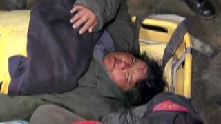 Ancón: pescador y su esposa embarazada quedan atrapados en acantilado
