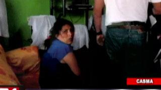 Casma: capturan a mujer que participó en robo de Caja Municipal Trujillo