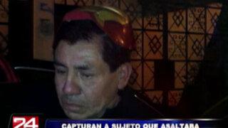 Capturan a sujeto que desmantelaba autos en San Luis