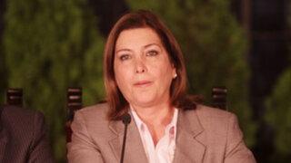 Canciller Eda Rivas prefiere no comentar segundo viaje no autorizado de Humala