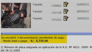 Chosicano: Conductor que chocó en Santa Anita tiene multa por más de S/.5 mil