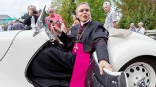 """El papa Francisco suspendió temporalmente al """"obispo de lujo"""" de Alemania"""