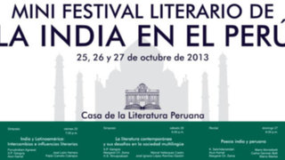 Mini festival literario de la India en el Perú en la Casa de la Literatura