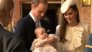 Duques de Cambridge bautizaron al pequeño príncipe George