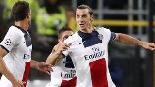 Champions: Ibrahimovic se lució con cuatro golazos ante el Anderlecht