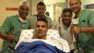 Paolo Guerrero fue intervenido exitosamente tras superar crisis nerviosa