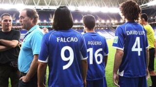 VIDEO: Falcao, Agüero y David Luiz protagonizan anuncio oficial de Brasil 2014