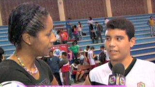 La Capitana presentó a los campeones de los Juegos Deportivos Escolares