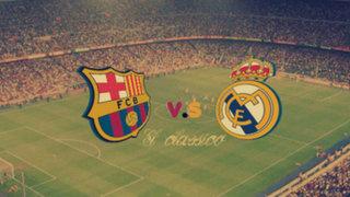 Bloque Deportivo: expectativa mundial por el clásico Barcelona-Real Madrid