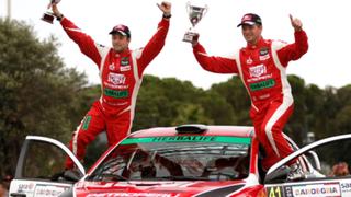 Piloto peruano Nicolás Fuchs ganó segunda etapa del Rally España
