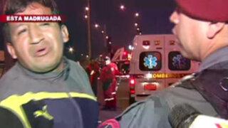 Accidentes de tránsito en San Miguel, Santa Anita y Campoy