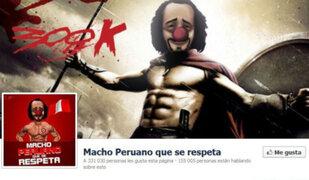 Página 'Macho Peruano Que se Respeta' fue sacada de Facebook