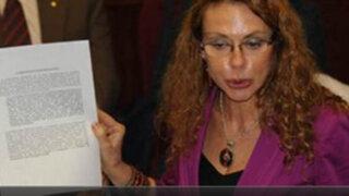 Accidentada presentación de Eliane Karp ante Comisión de Fiscalización