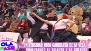 Universidad Inca Garcilaso de la Vega realizó el II Concurso de Marinera Norteña