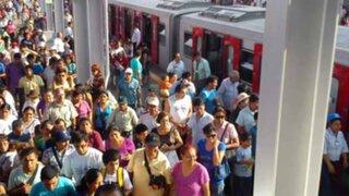Estudiante de 17 años murió mientras viajaba en el tren eléctrico