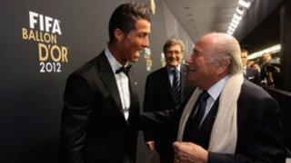 Blatter se disculpa con por carta y redes sociales: Cristiano es excepcional