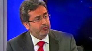 Juan Jiménez Mayor presentó su carta de renuncia al presidente Humala